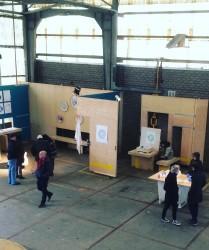 Blooz Gallery pop-up expo bij Fabrikaat met werk van Roos Meerman