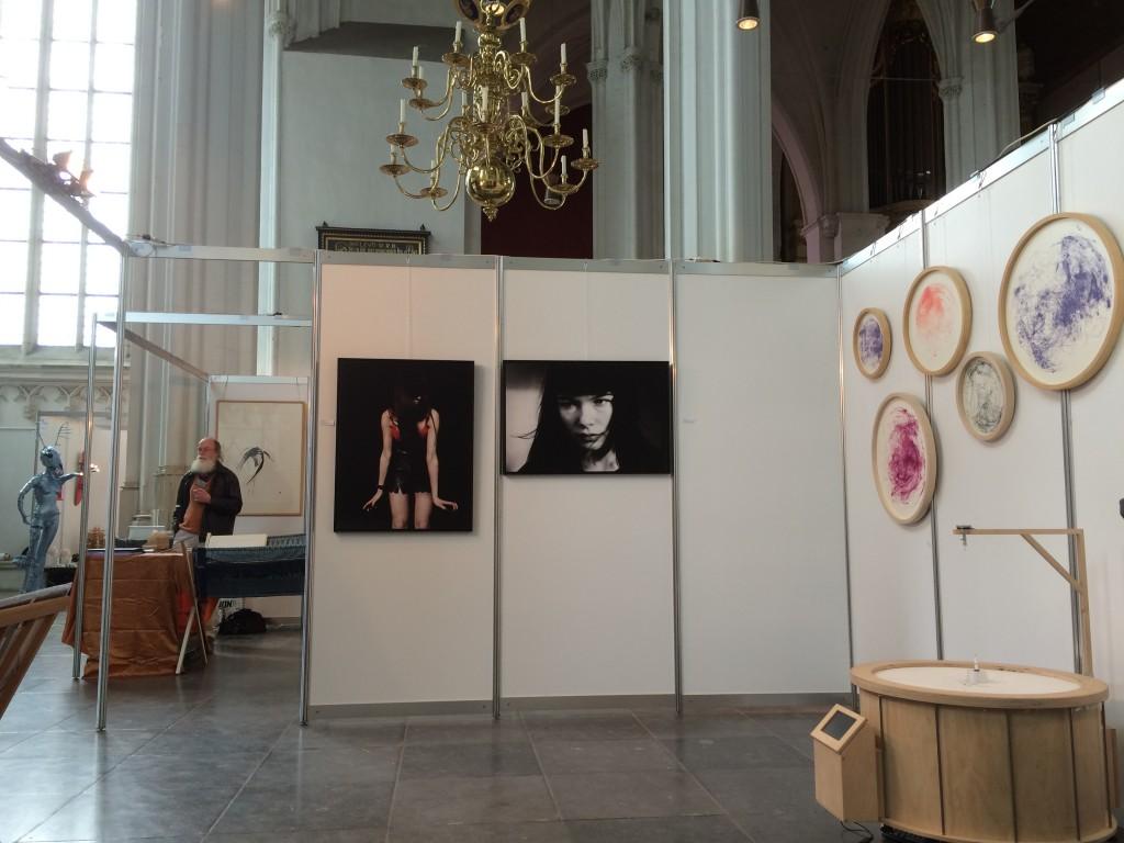 inrichting-beursstand Blooz Gallery